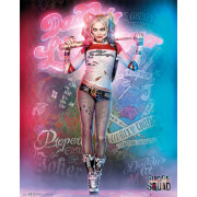 Suicide Squad Harley Quinn Stand - 40 x 50cm Mini Poster