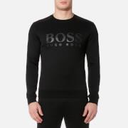 BOSS Green Men's Salbo Crew Neck Sweatshirt - Black