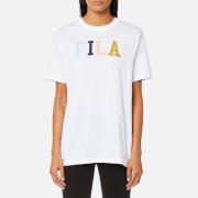 FILA Blackline Women's Taylor Essential Logo T-Shirt - White