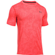 Under Armour Men's Threadborne Elite Fitted T-Shirt - Orange