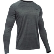 Under Armour Men's Tech Novelty Long Sleeve Top - Black