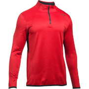 Under Armour Men's Reactor 1/4 Zip Fleece - Red