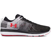 Under Armour Men's Threadborne Fortis Running Shoes - Black