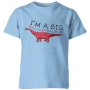 I'm A Big Brothersaurus Kids Light Blue T-Shirt