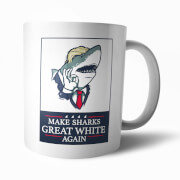 Make Sharks Great Again Mug