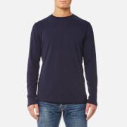 Edwin Men's Terry Long Sleeve T-Shirt - Navy