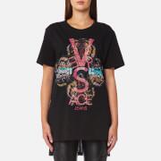Versace Jeans Women's Logo T-Shirt - Black