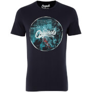 Jack & Jones Men's Originals Watch T-Shirt - Total Eclipse