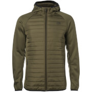 Jack & Jones Men's Core Multi Quilted Jacket - Olive