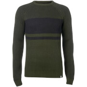 Pull Homme Core Seattle Block Fisherman Jack & Jones - Vert Olive