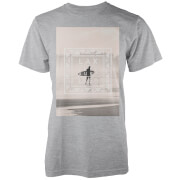 Camiseta Native Shore Free Surf - Hombre - Gris claro