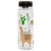 Sass & Belle Lima Llama Clear Water Bottle