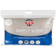 Dreamtime Simply Sleep Twin Pack Pillows - White