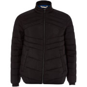 Jack & Jones Originals Men's New Landing Padded Jacket - Black