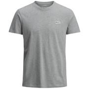 Jack & Jones Originals New Lights T-Shirt - Light Grey Marl