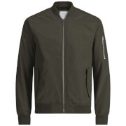 Blouson Bomber Homme Core Grand Jack & Jones - Kaki