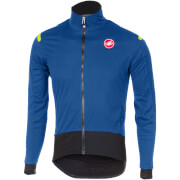 Castelli Alpha Ros Long Sleeve Jersey - Ceramic Blue