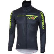 Castelli Velocissimo 2 Jacket - Light Black/Yellow Fluo