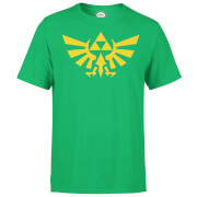 Nintendo® Zelda Triforce Heren T-shirt - Groen