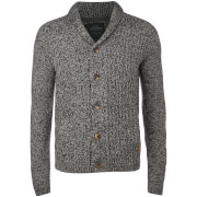 Threadbare Men's Danvers Cardigan - Ecru/Mid Grey Marl