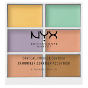 NYX Professional Makeup 3C Palette - Color Correcting Concealer