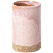 Broste Copenhagen Slim Ceramic Vase - Pink