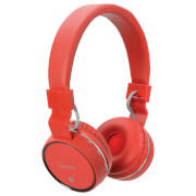 AV: Link Draadloze Bluetooth On-Ear Noise Cancelling Koptelefoon - Rood