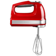 KitchenAid 5KHM9212BER 9 Speed Hand Mixer - Empire Red