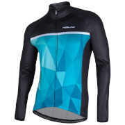 Nalini Algol Long Sleeve Jersey - Black/Green