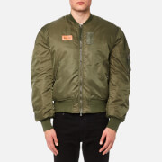 Maharishi Men's MA-1 Flight Jacket - Mil Olive