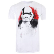 Star Wars Men's The Last Jedi Executioner T-Shirt - White