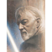 Zavvi Exclusive - Star Wars Timeless Series: Print #1 - Obi-Wan door Jerry Vanderstelt
