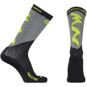Northwave Extreme Pro High Winter Socks - Yellow/Black