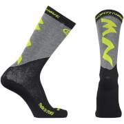 Northwave Extreme Pro High Winter Socks - Yellow/Black