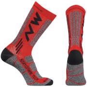 Northwave Husky Ceramic Tech 2 Winter Socks - Red