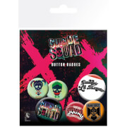 Suicide Squad Lil Monster Badge Pack