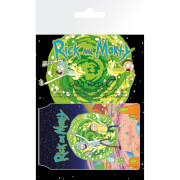 Rick and Morty Portal Card Holder