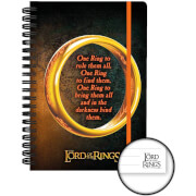 Lord of the Rings One Ring A5 Notebook