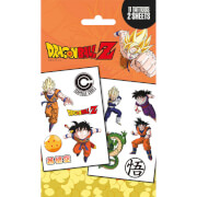 Dragon Ball Z Mix Temporary Tattoo Pack