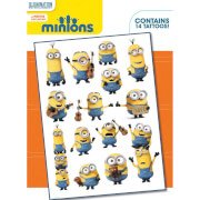 Minions Mix Temporary Tattoo Pack