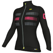 Alé Women's PRR 2.0 Strada Winter Jersey - Black/Pink