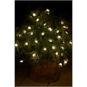 Sirius Silke Indoor and Outdoor 40 LED String Lights with Timer - 3.9m