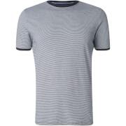 Brave Soul Men's Gandalf Stripe T-Shirt - Navy/White