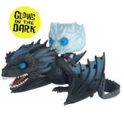 Game of Thrones Night King & Icy Viserion GITD Pop! Vinyl Ride