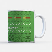 Nintendo Super Mario It's Dangerous to Go Alone Mug
