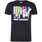 Camiseta MTV Logo - Hombre - Negro