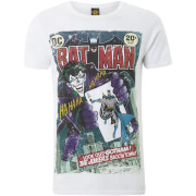 T-Shirt Homme Joker Batman Comics - Blanc