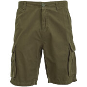Brave Soul Men's Riverwood Cargo Shorts - Khaki