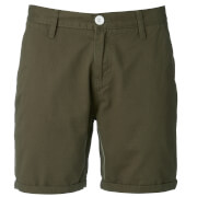 Brave Soul Men's Smith Chino Shorts - Khaki