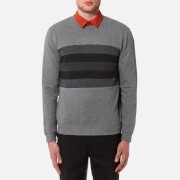 Folk Men's Panel Sweatshirt - Greys Mix
